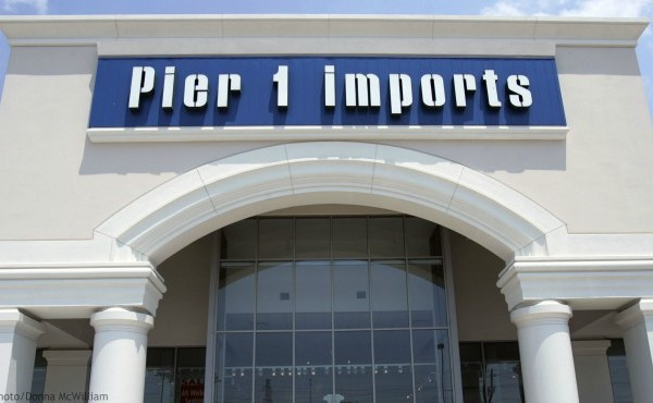 This June 15, 2005, file photo shows a Pier 1 Imports store in Dallas. (AP Photo/Donna McWilliam, File)