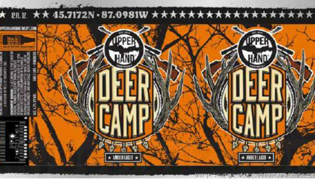 A courtesy image of Upper Hand Brewery's beer that's at center of a trademark infringement lawsuit.