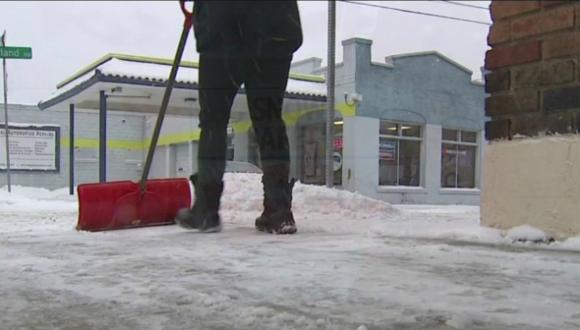 How to stay safe while shoveling snow