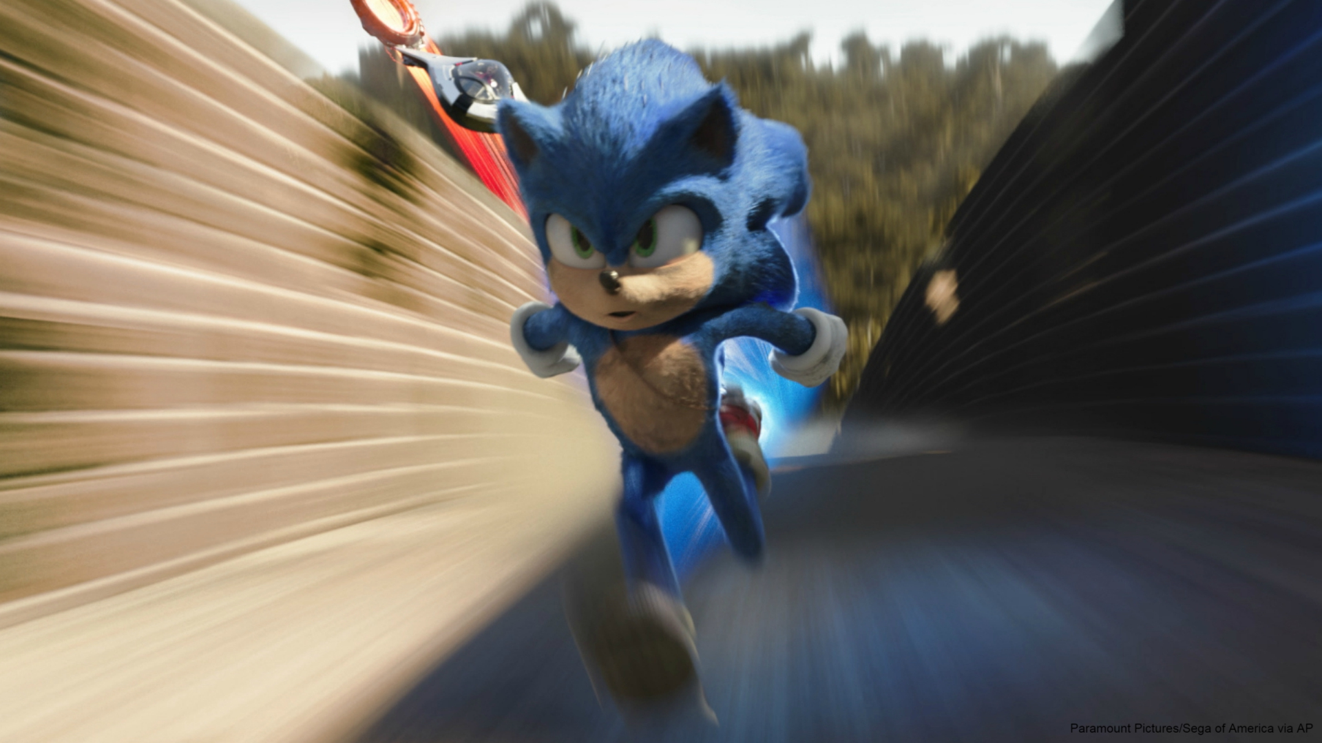 Box Office Goes Sonic Again But Hears Call Of The Wild Woodtv Com