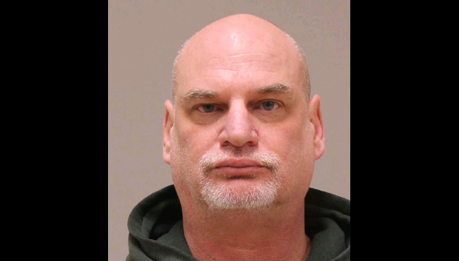 An undated booking photo of Michael Pagel.