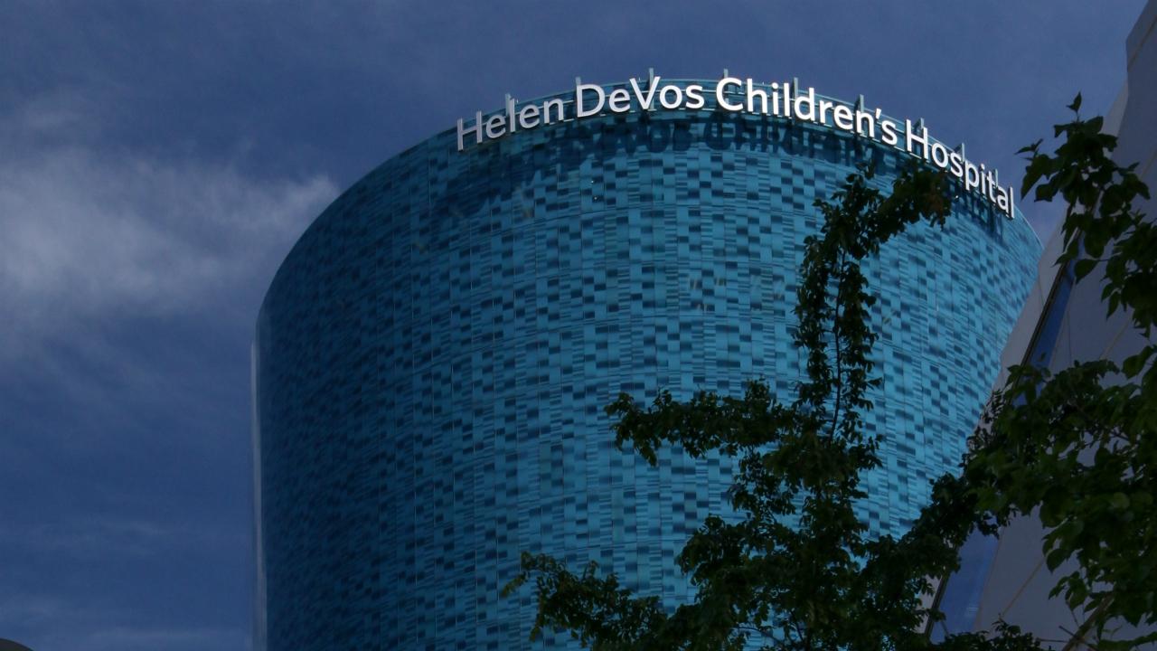 Helen DeVos Children's Hospital getting $15M for innovation center