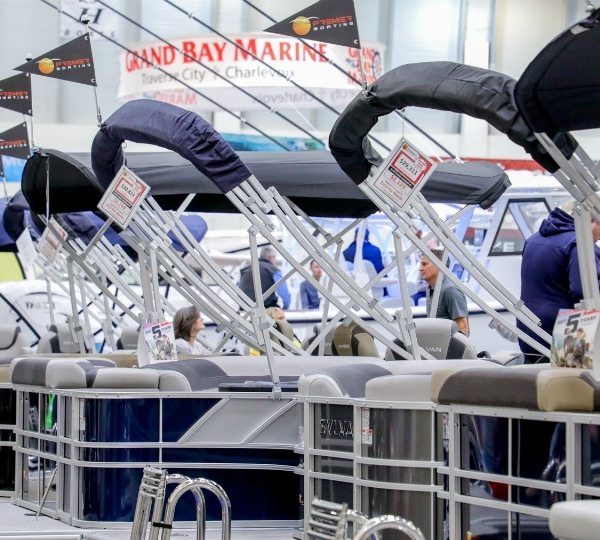 The Grand Rapids Boat Show returned to DeVos Place Convention Center from Feb. 19 to Feb. 23, 2020. (Michael Buck/WOOD TV8)