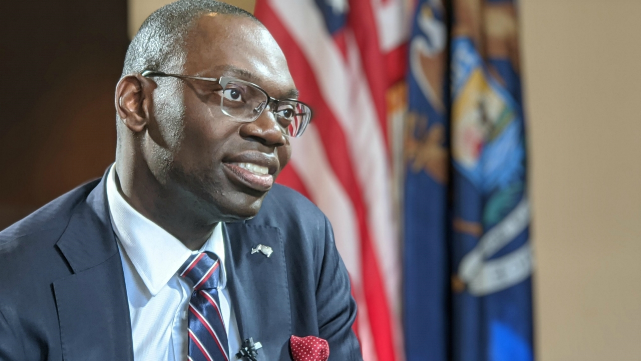 'Everything a first' for Michigan's lieutenant governor