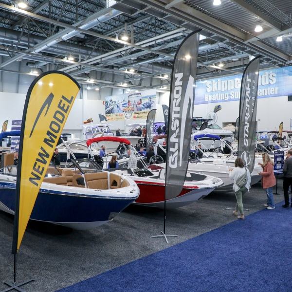 The Grand Rapids Boat Show returned to DeVos Place Convention Center from Feb. 19 to Feb. 23, 2020. (Michael Buck/WOODTV8)