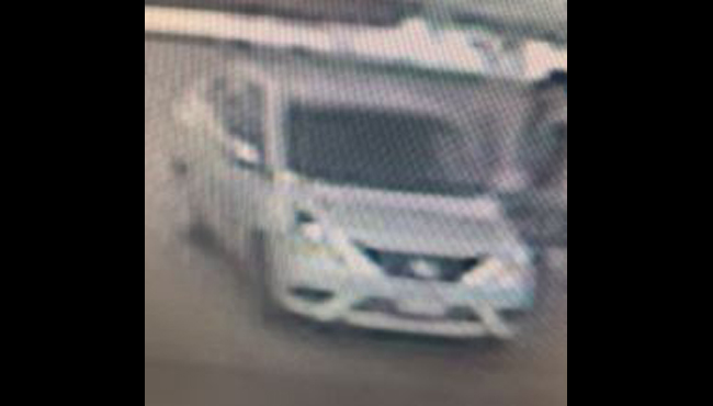 A photo of the suspect's vehicle. (Courtesy of the Kalamazoo Department of Public Safety)