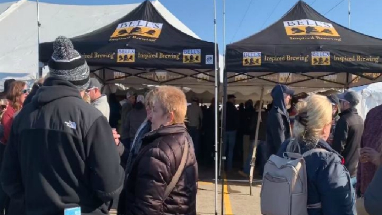 Thousands come to Winter Beer Festival in Kent Co.