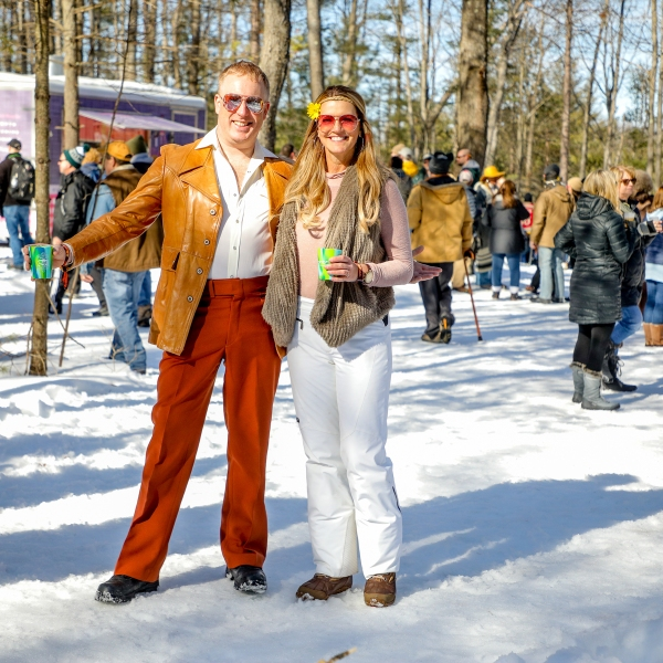 The 14th annual Suds and Snow was held at Timber Ridge Resort in Traverse City Saturday, March 7, 2020.