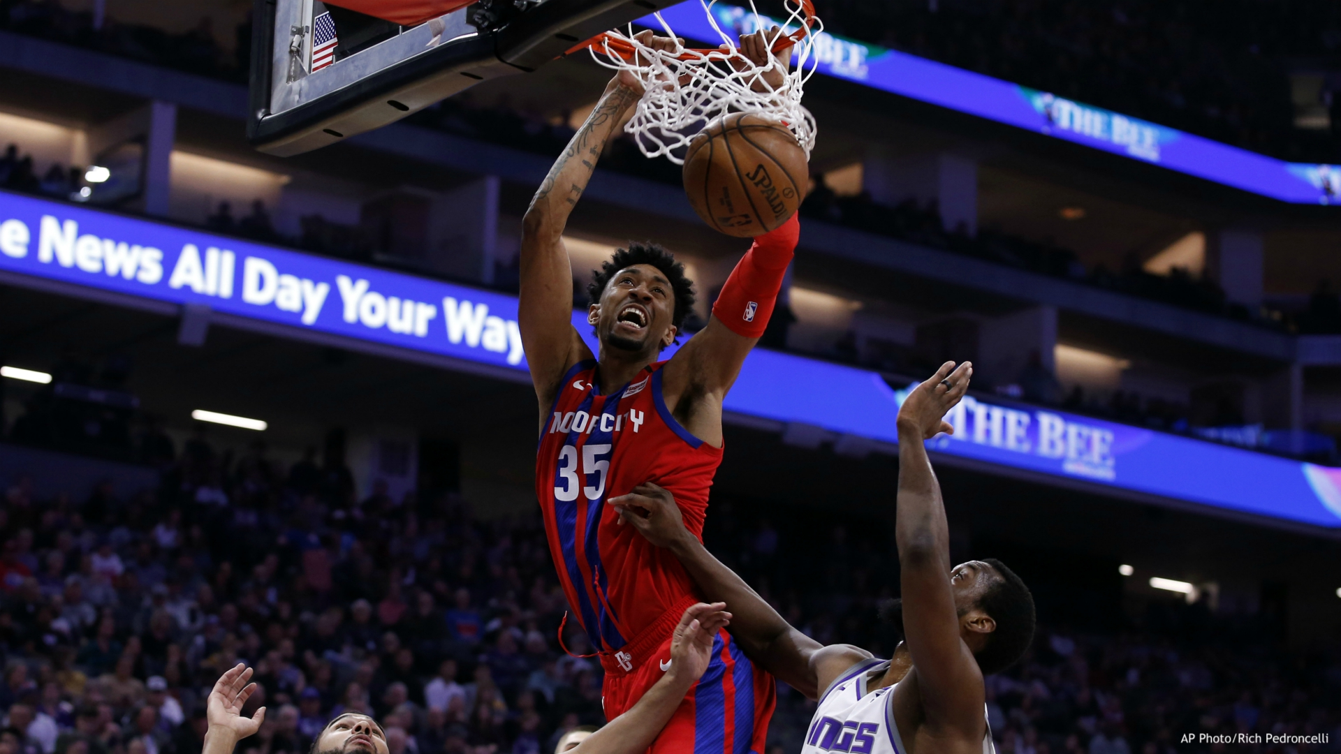 Kings Come Back From 17 Down To Beat Pistons Woodtv Com