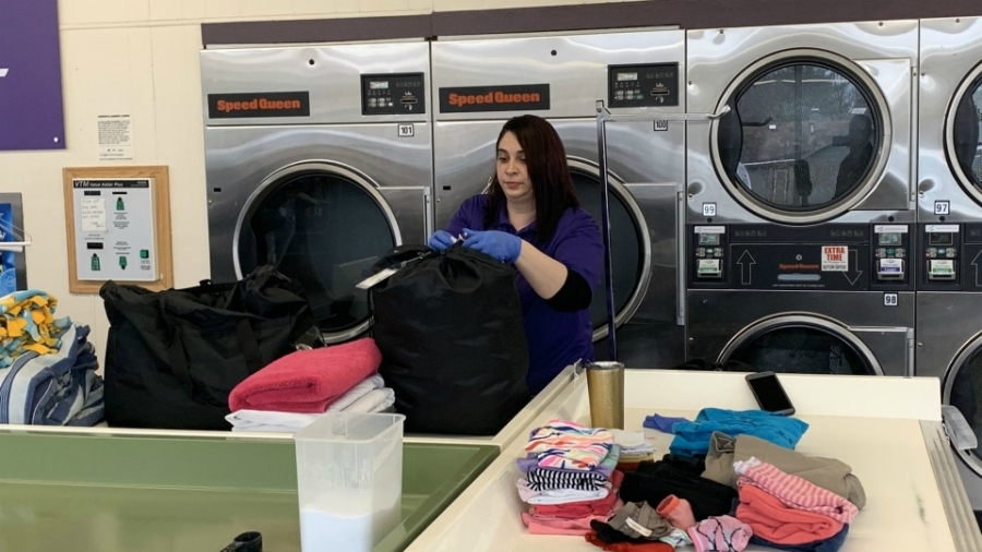 A photo of Paris Cleaners and Laundry in Portage. (March 20, 2020)