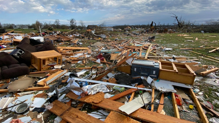 cookeville tennessee tornado damage