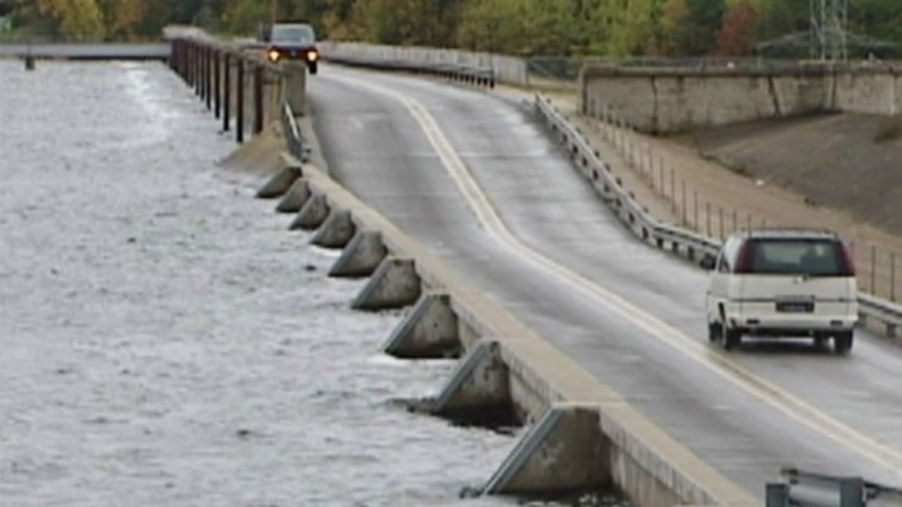 Official: Hardy Dam closely monitored, not in danger