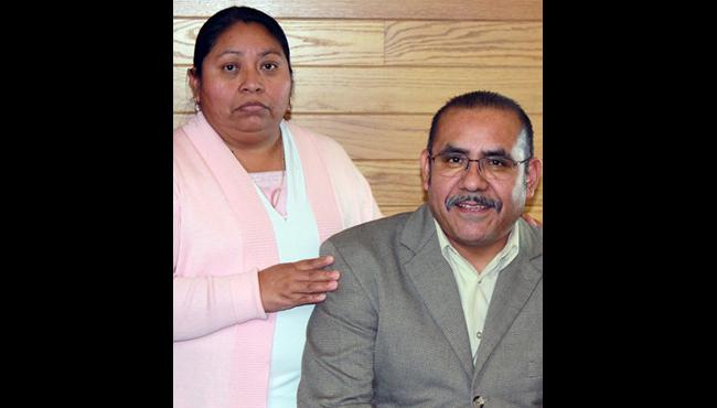 Courtesy photo of Matias Domingo and his wife, Candelaria.