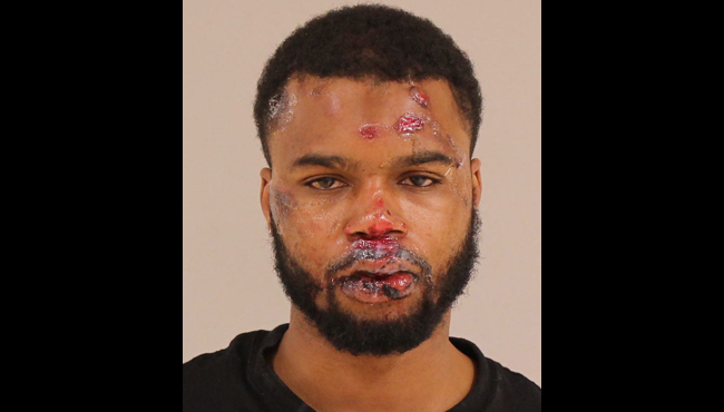 The booking photo of Kavosaye Phillips after an incident on May 20, 2020.