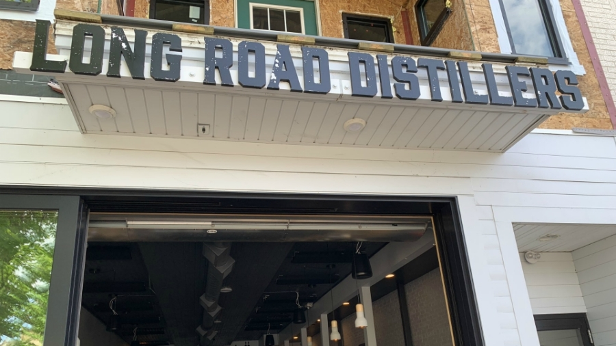 Long Road Distillers in Grand Haven on May 23, 2020.