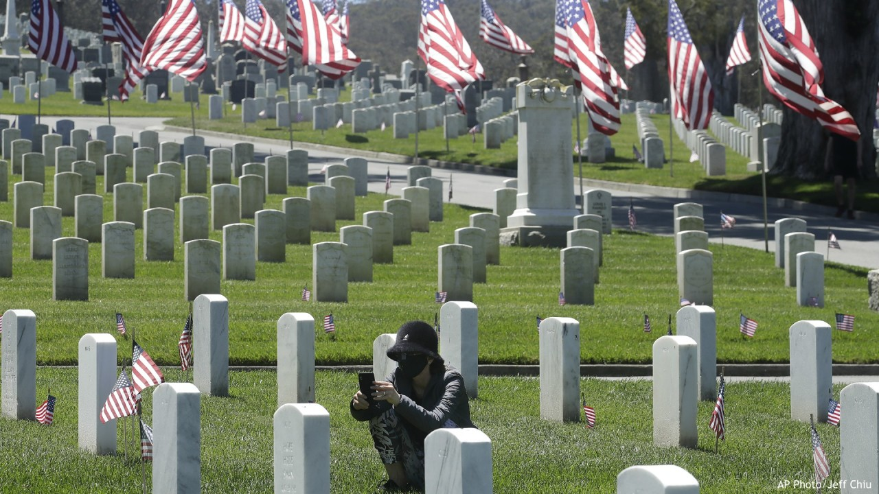 US faces a Memorial Day like no other; Greek islands reopen