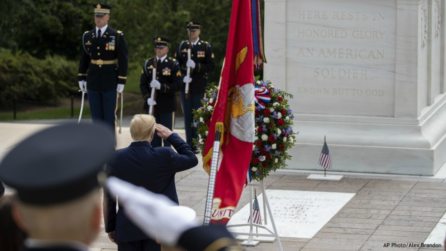 tomb of the unknown soldier - photo #2