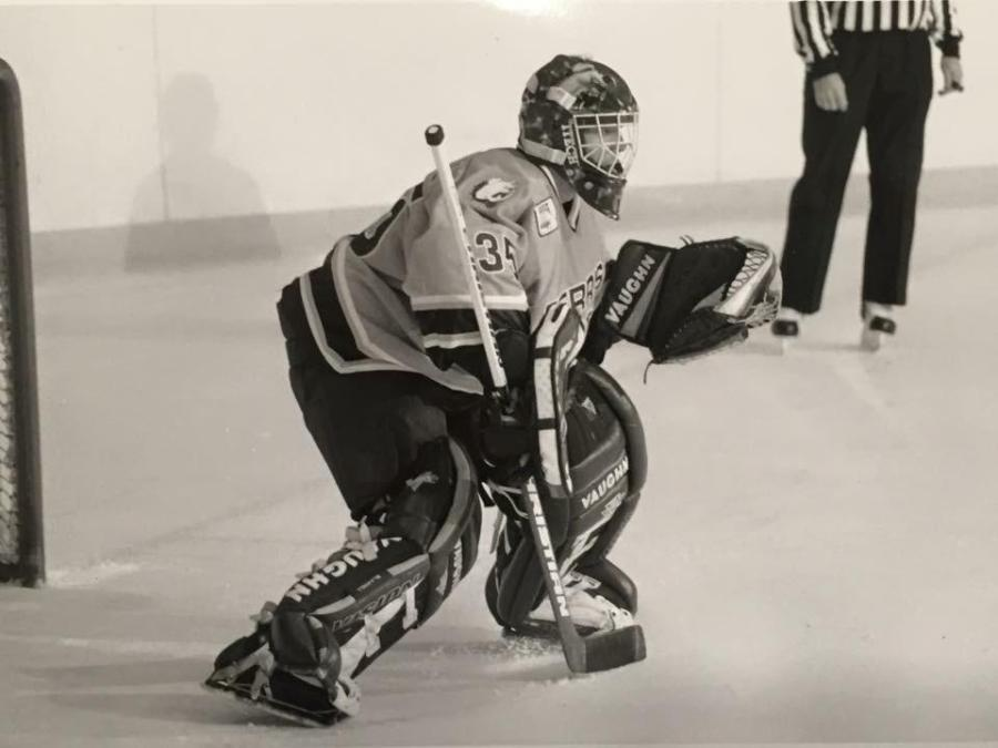 Courtesy photo of Jeff Blashill when he was a player at Ferris State University.