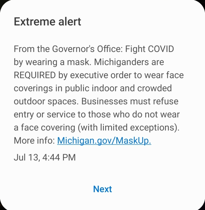 Businesses Must Now Enforce Mask Mandate Woodtv Com