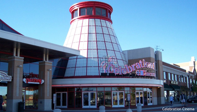 A courtesy photo of Celebration Cinema's Grand Rapids North theater.