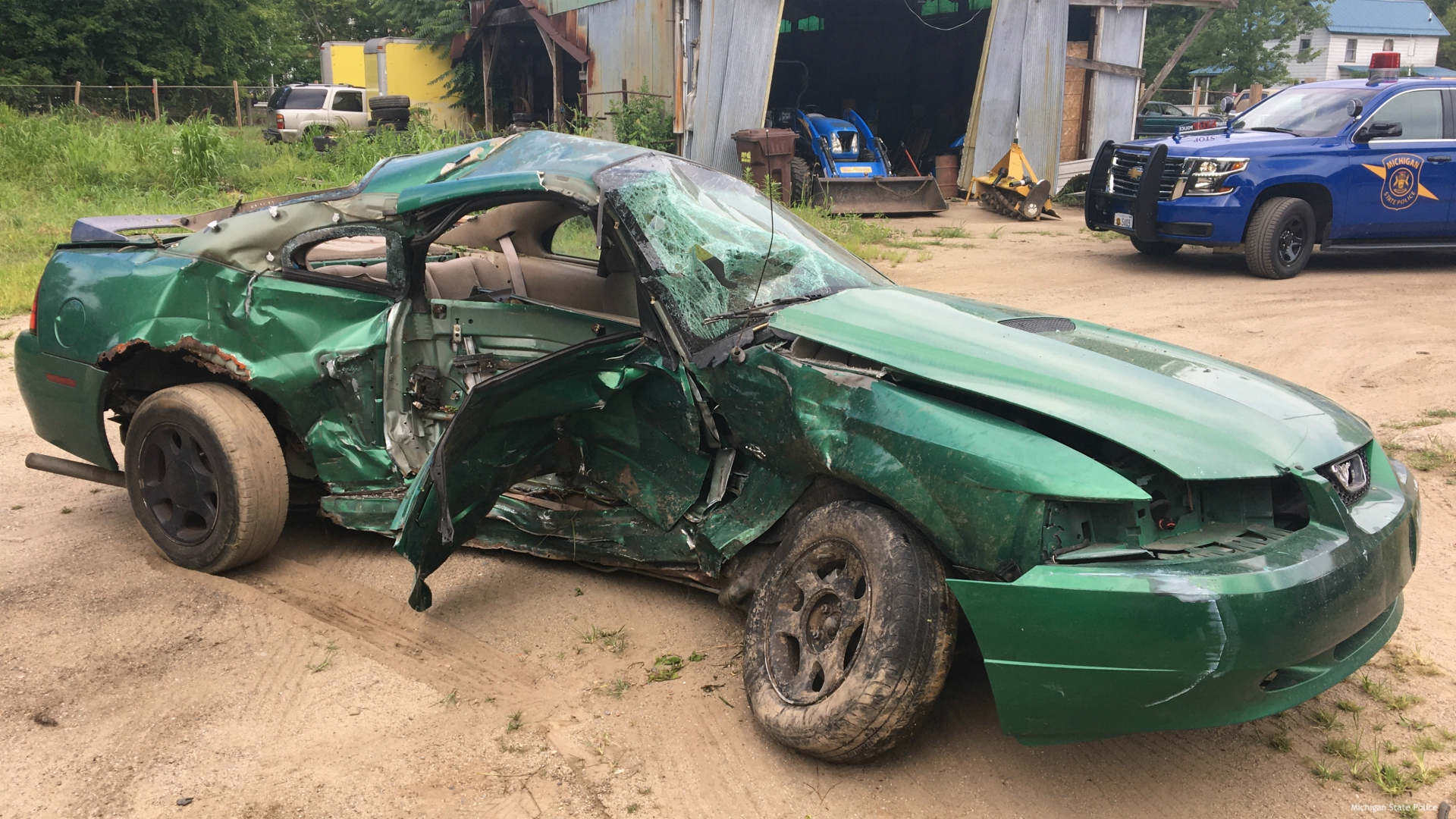 Sherman Township Christmas Service 2020 19 year old dies following St. Joseph County crash | WOODTV.com
