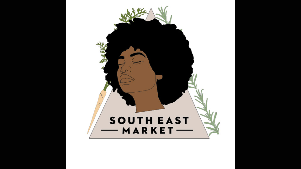 Logo for The South East Market in Grand Rapids.