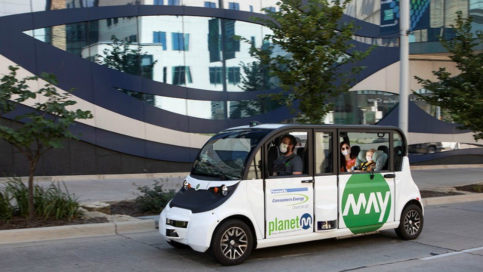 Driverless shuttles to return to GR streets with COVID-19 changes |  WOODTV.com