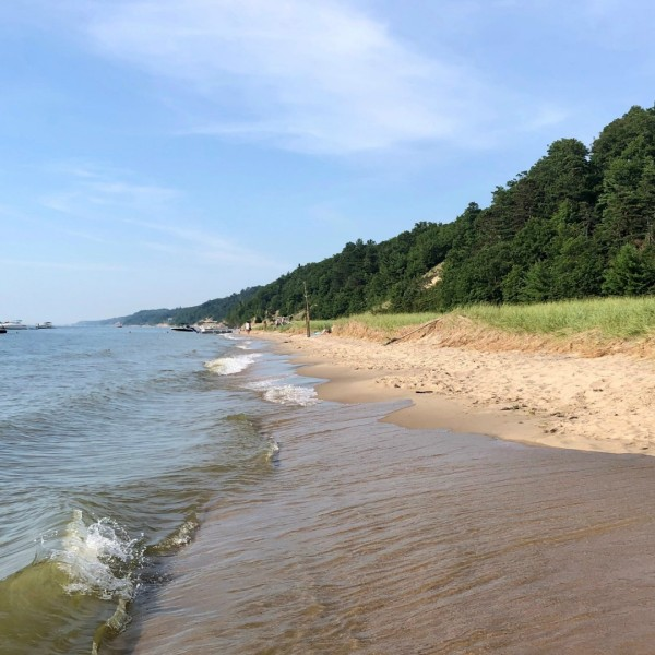 Saugatuck Dunes State Park in Laketown Township, Mich. (July 25, 2020)