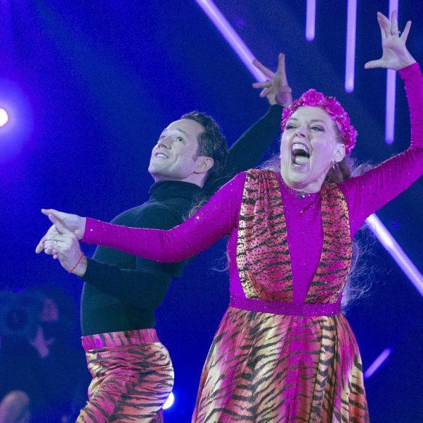 Carole Baskin DWTS performance