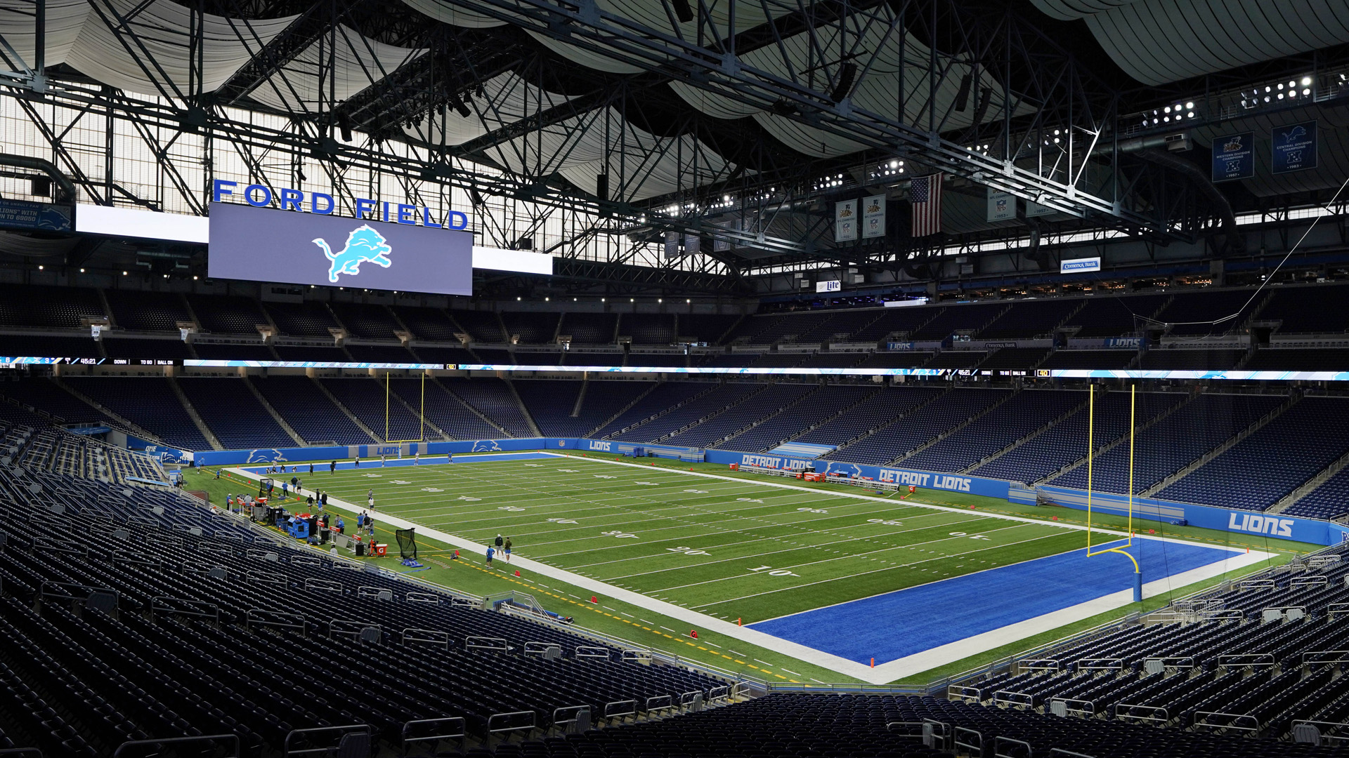 Ford Field To Be At Full Capacity For Lions Games Woodtv Com