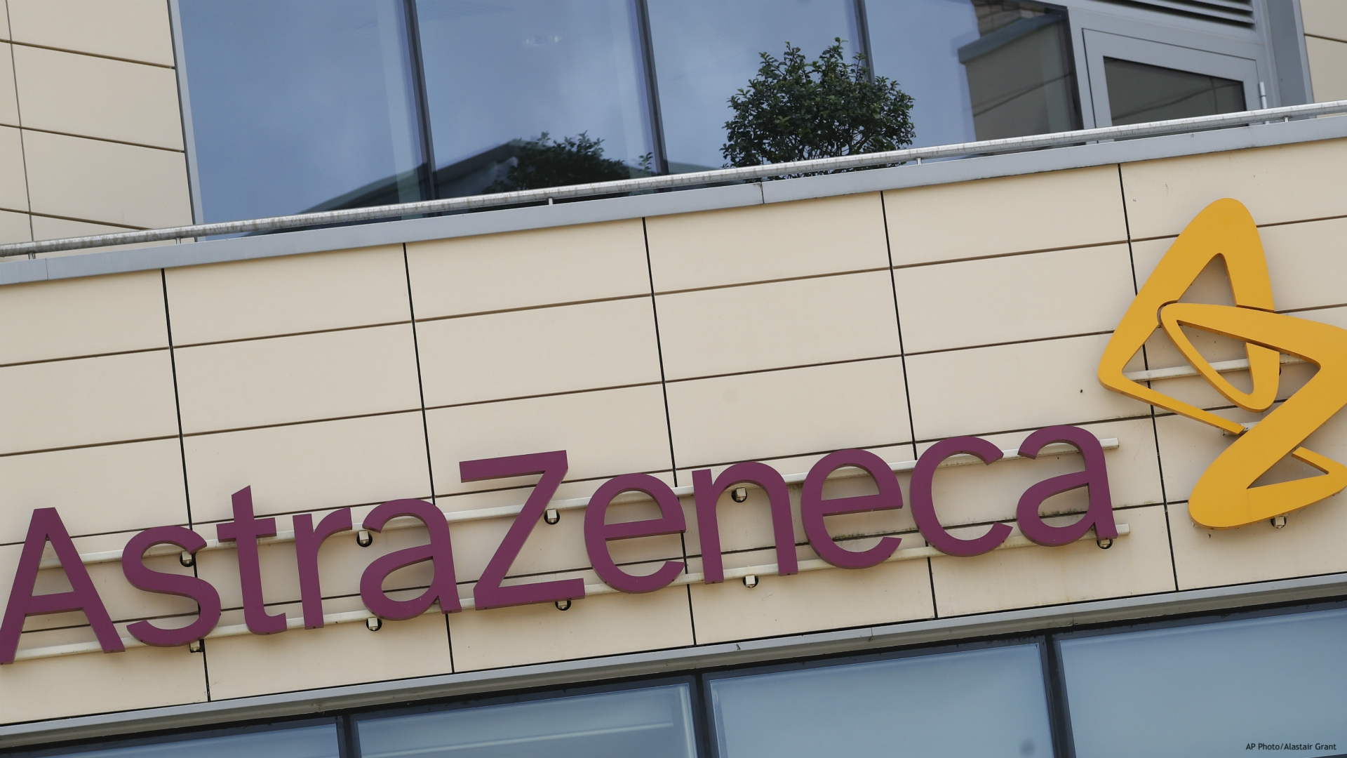 This July 18, 2020, file photo, shows the AstraZeneca offices in Cambridge, England. AstraZeneca announced Monday, Aug. 31, its vaccine candidate has entered the final testing stage in the U.S. The company said the study will involve up to 30,000 adults from various racial, ethnic and geographic groups. (AP Photo/Alastair Grant, File)