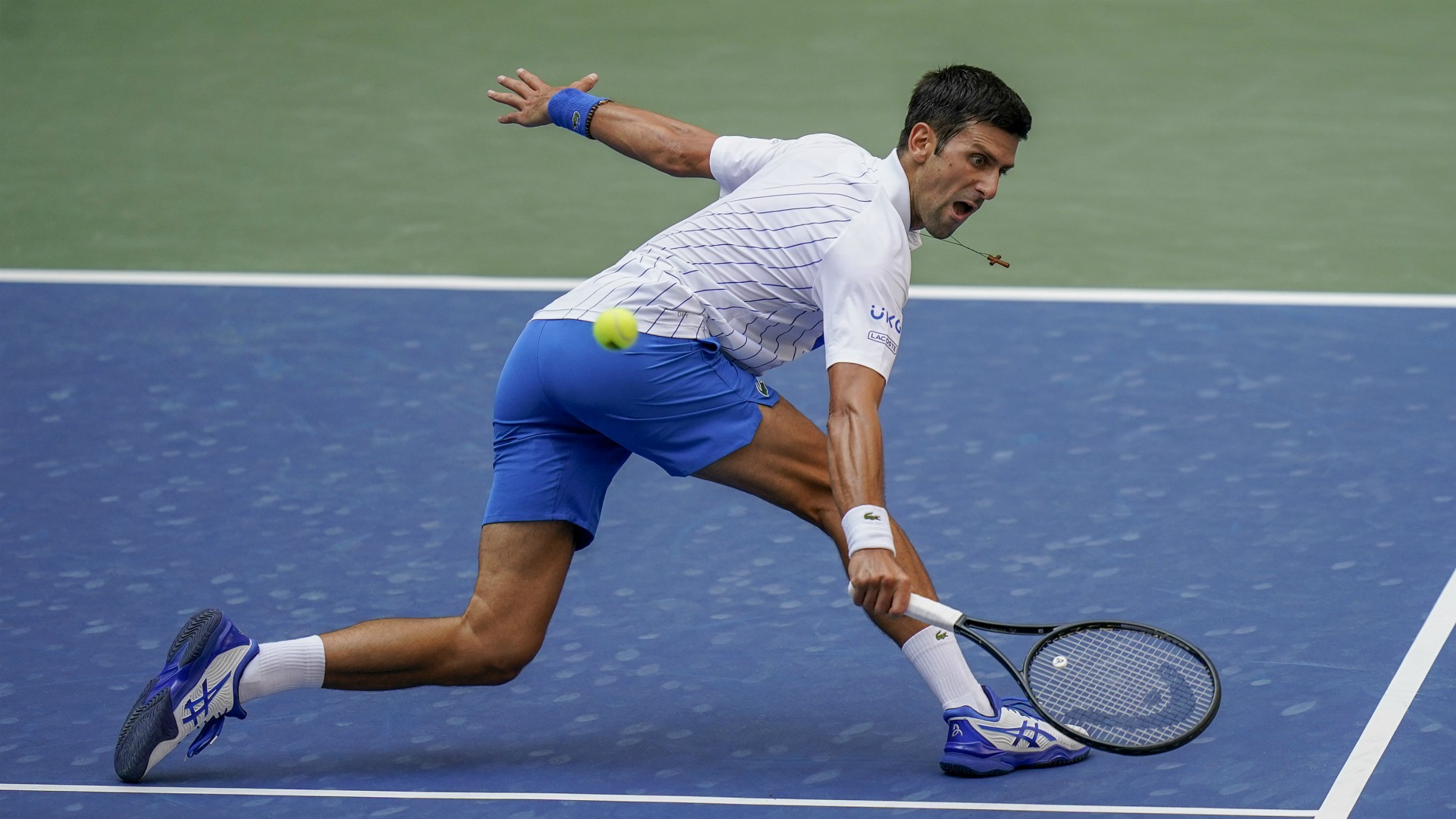 Djokovic Out Of Us Open After Hitting Line Judge With Ball Woodtv Com