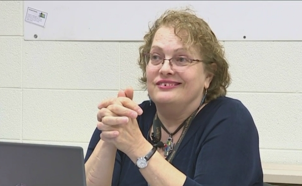 A photo of the Julia Koch, a first-grade teacher at Edgewood Elementary School.