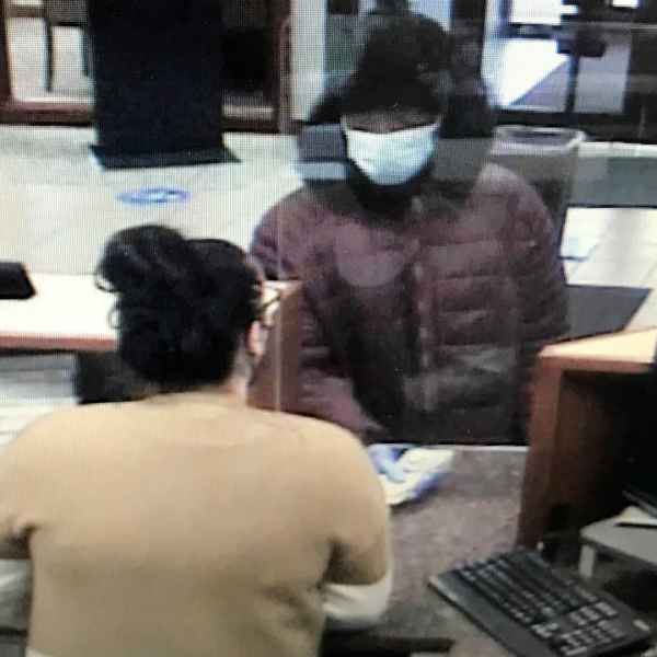 The Kent County Sheriff's Office has released a surveillance photo of a suspect who robbed the  TCF Bank branch on Kalamazoo Avenue near 60th Street in Gaines Township on Nov. 27, 2020.