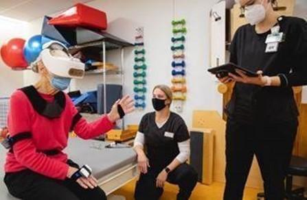 Mary Free Bed virtual reality