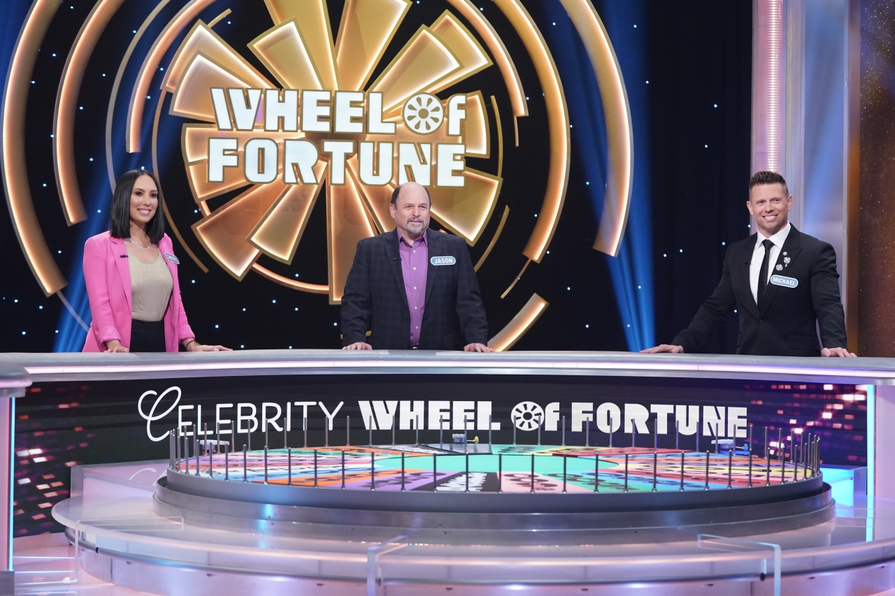 Celebrity Wheel of Fortune returns Sept. 26 starring Jason Alexander, Michael Mizanin and Cheryl Burke - WOODTV.com